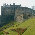 Edinburgh Castle - Copyright ©2004 Rainer Brockerhoff